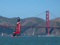 201: America's Cup Foiling, 24 May 2013