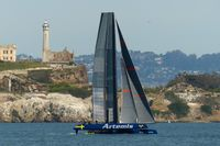 211: Artemis Racing AC45 Training, 19 Mar 2014